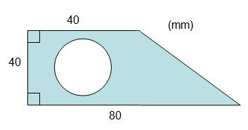 Exempel på areaberäkning av cirkel 01