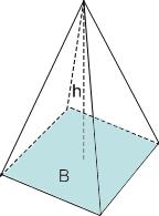volym pyramid