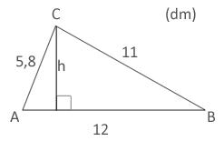 Trigonometri Cosinussatsen Exempel